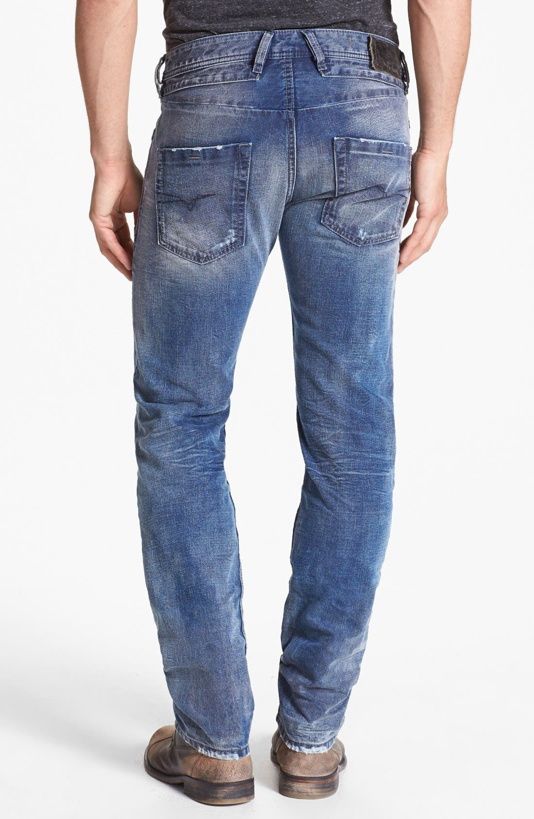 Alternate Image 1 Selected - DIESEL® 'Belther' Slim Fit Jeans (0816J)