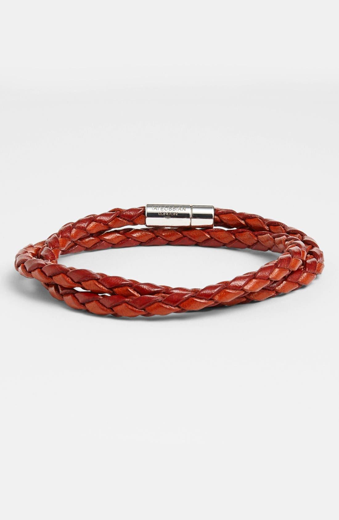 Alternate Image 1 Selected - Tateossian 'Pop' Leather Bracelet