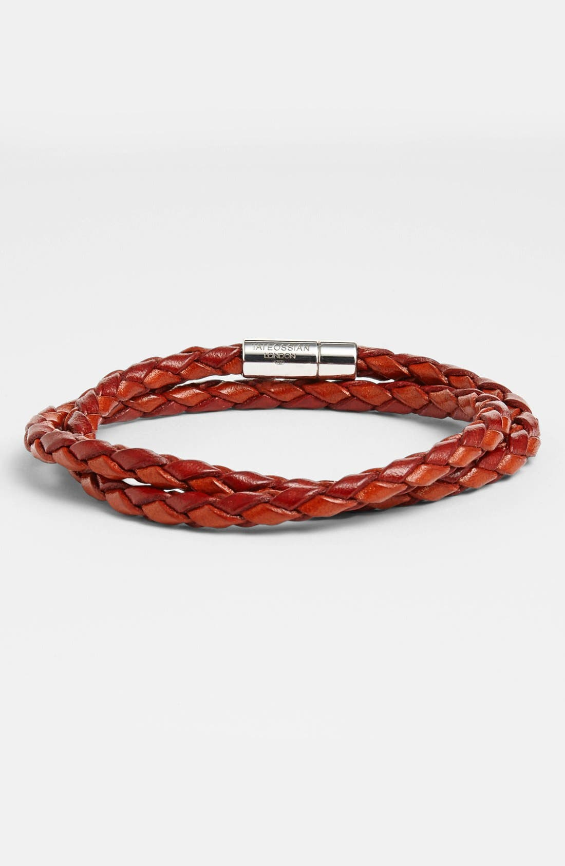 Main Image - Tateossian 'Pop' Leather Bracelet