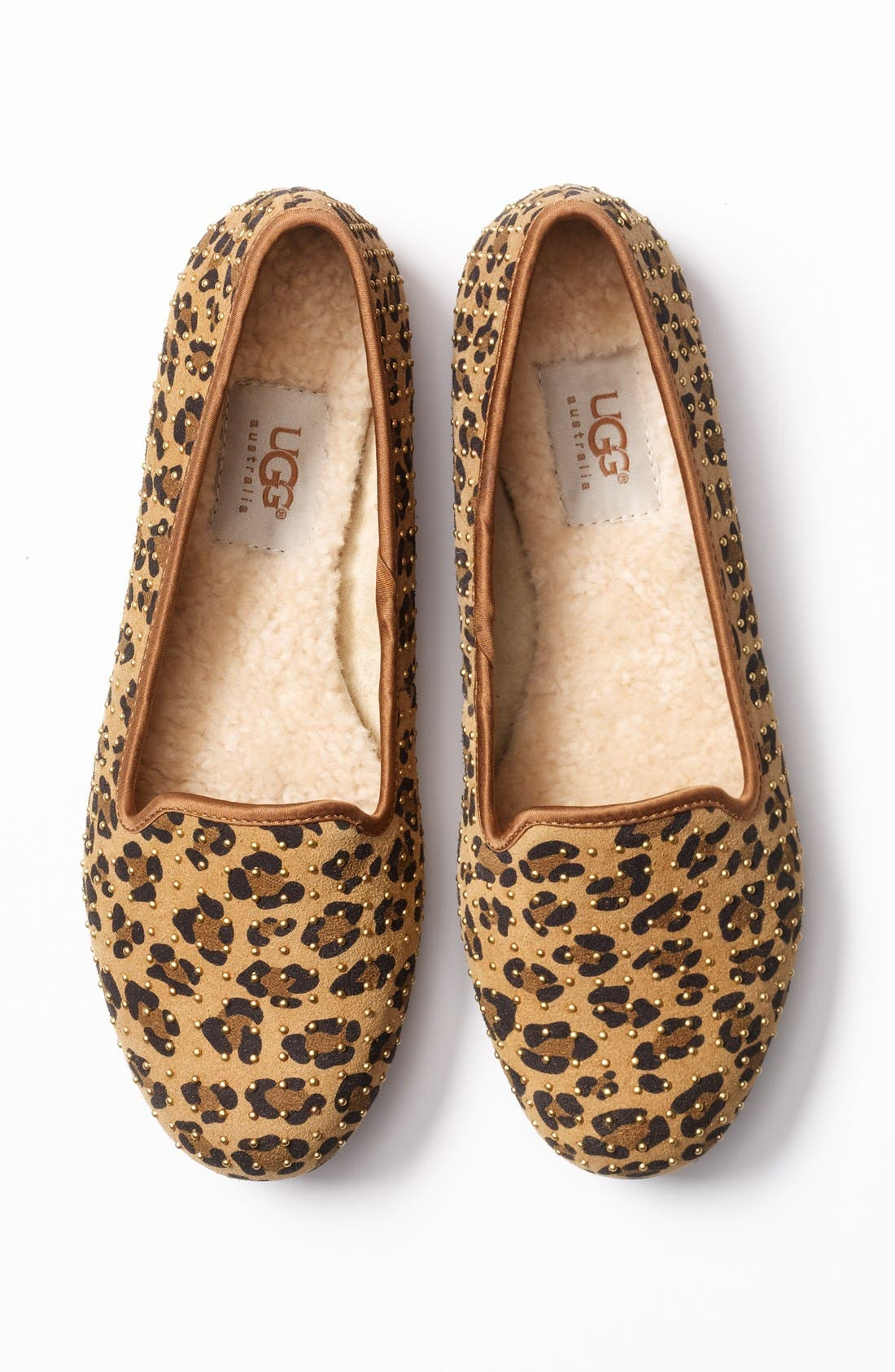 Alternate Image 5  - UGG® Australia 'Alloway' Studded Flat (Exclusive Color)