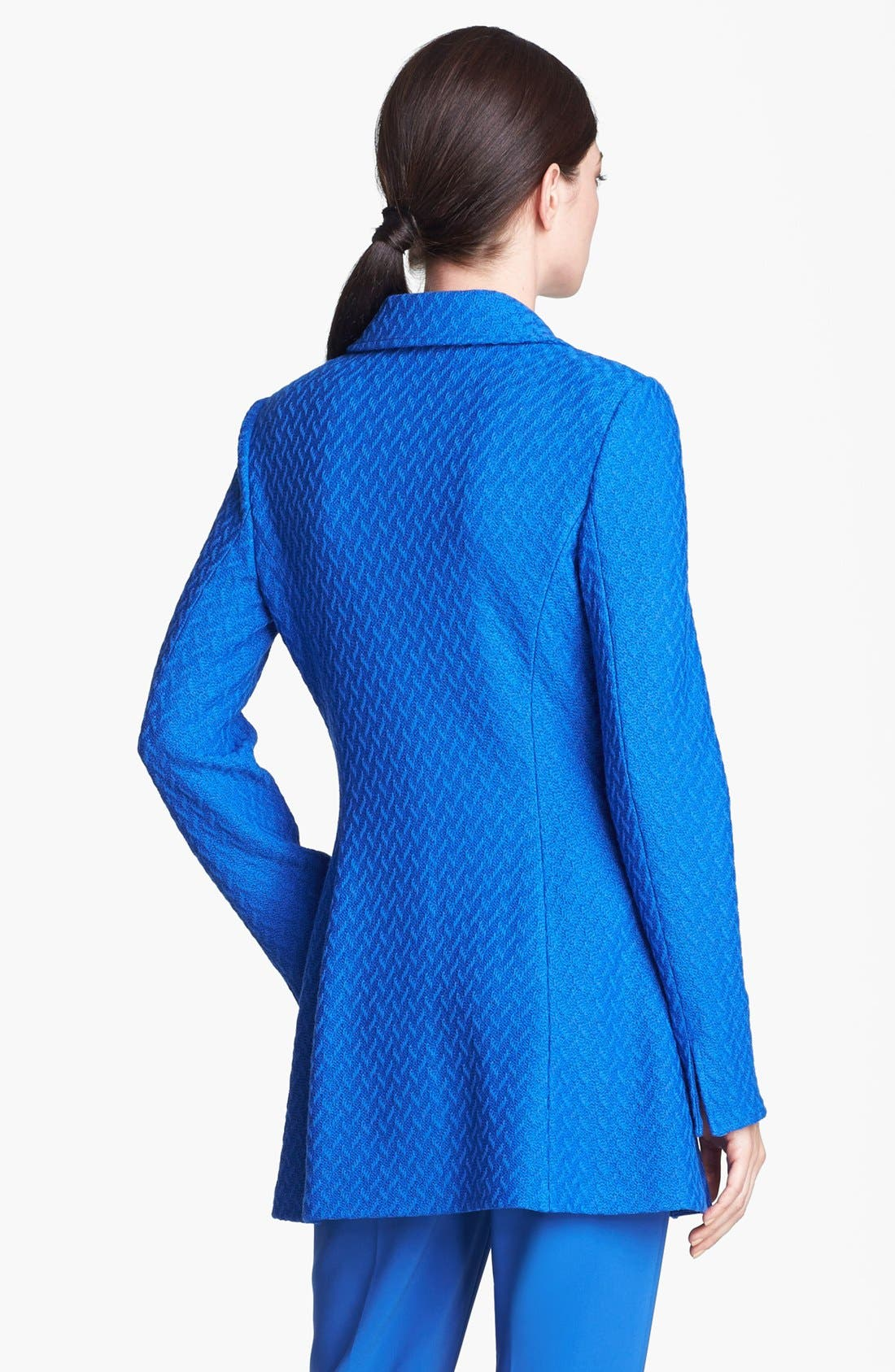 Alternate Image 4  - St. John Collection Long Twist Tweed Jacket