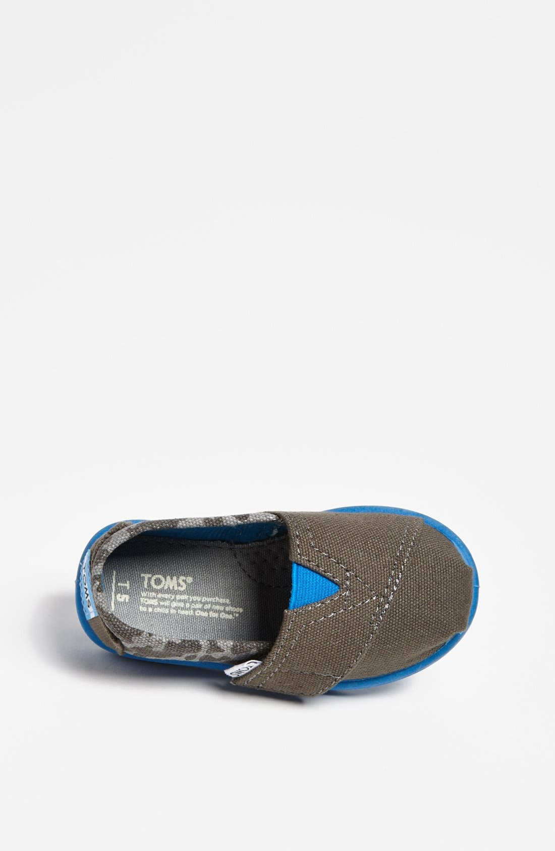 Alternate Image 3  - TOMS 'Classic Tiny - Camo' Slip-On (Baby, Walker & Toddler)