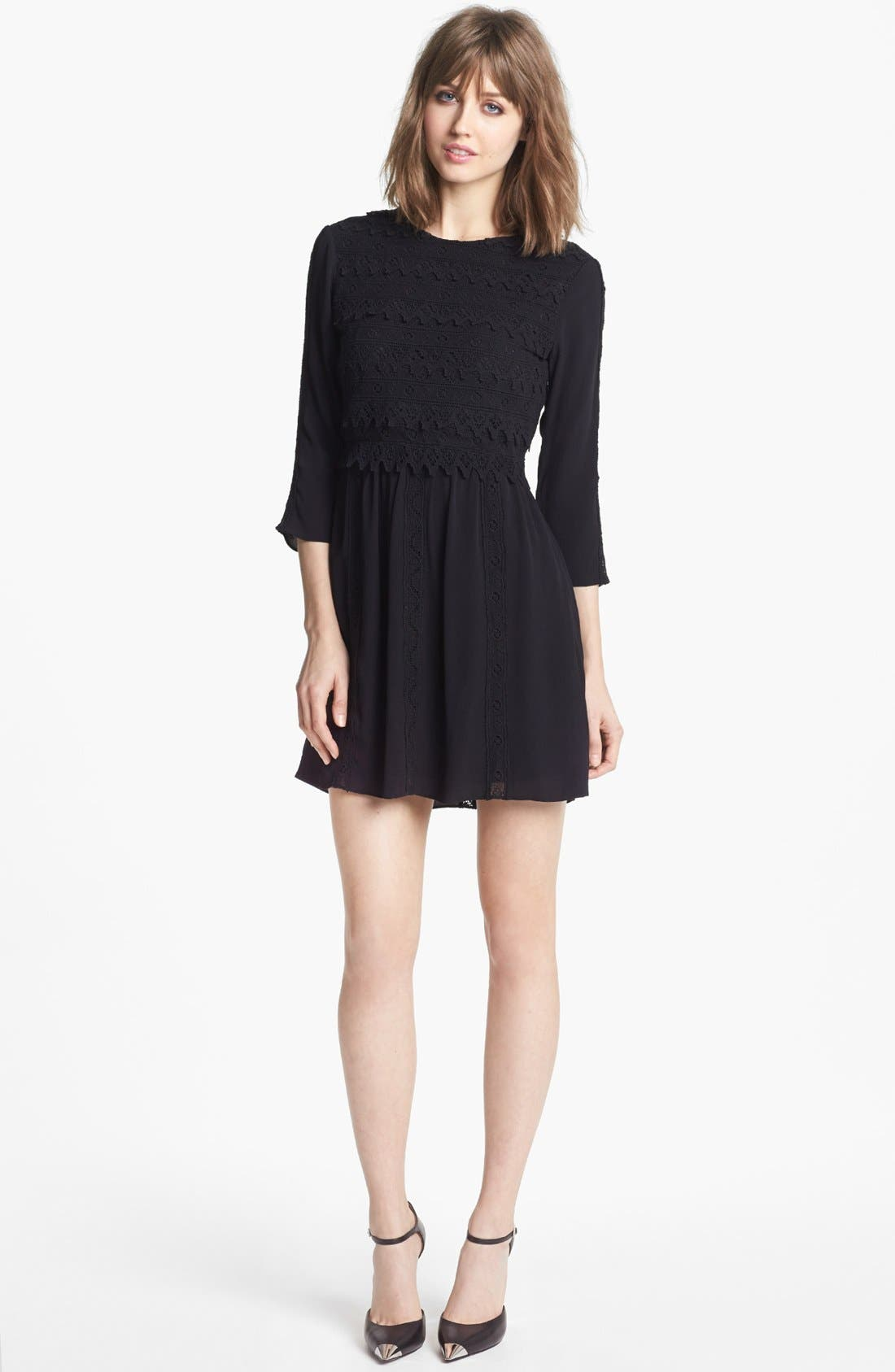 Main Image - Dolce Vita Lace Fit & Flare Dress