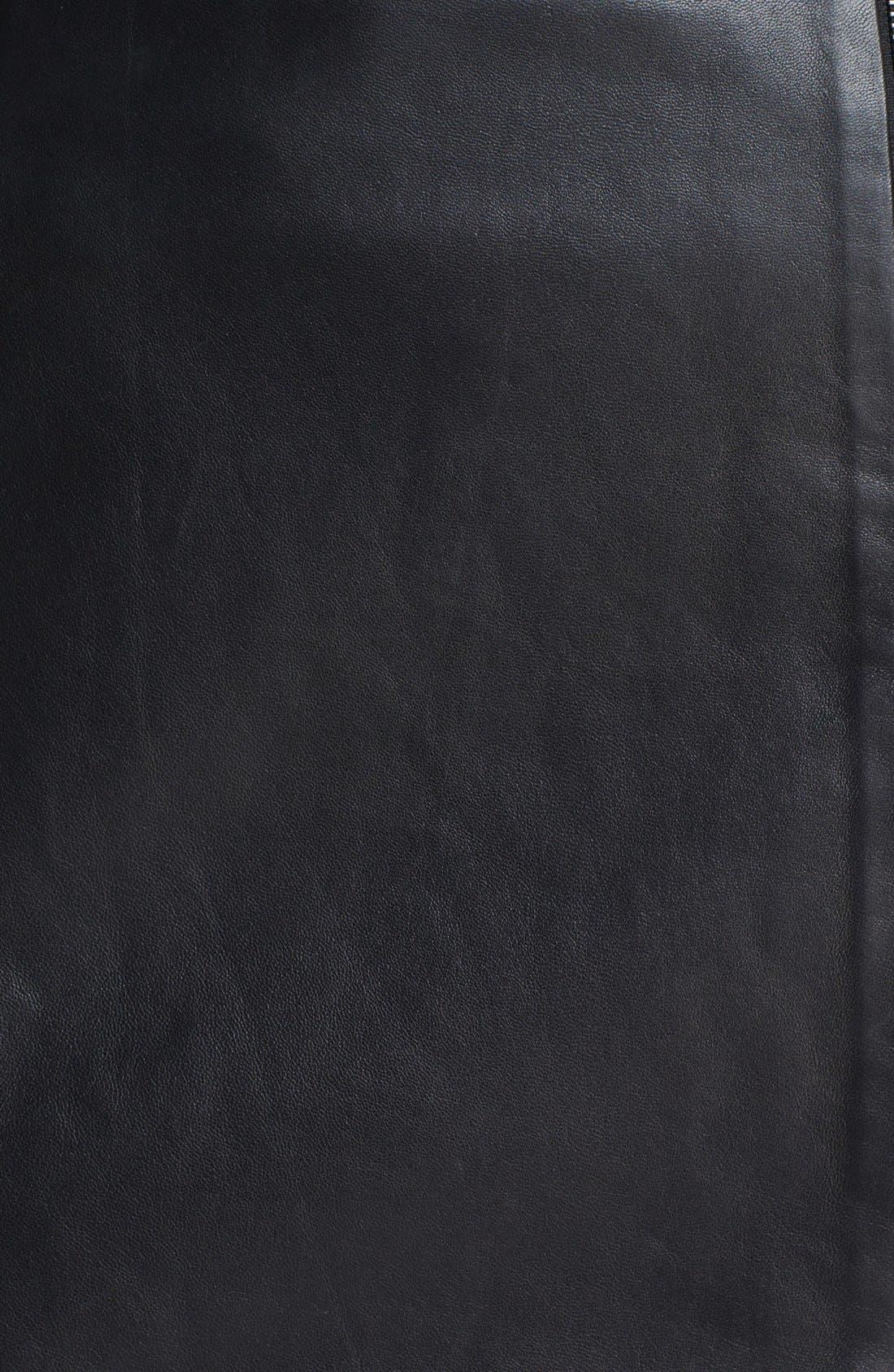 Alternate Image 3  - Leith Leather Wrap Skirt