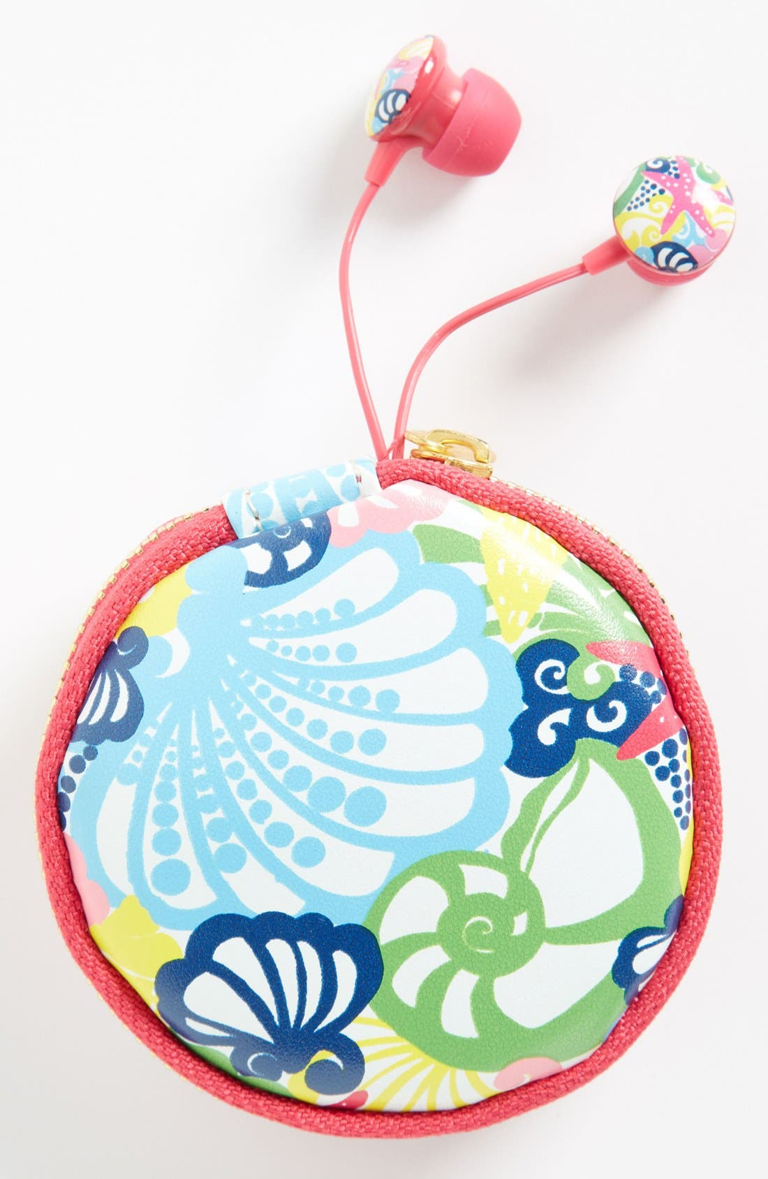 Alternate Image 1 Selected - Lilly Pulitzer® 'Chiquita Bonita' Earbuds & Pouch