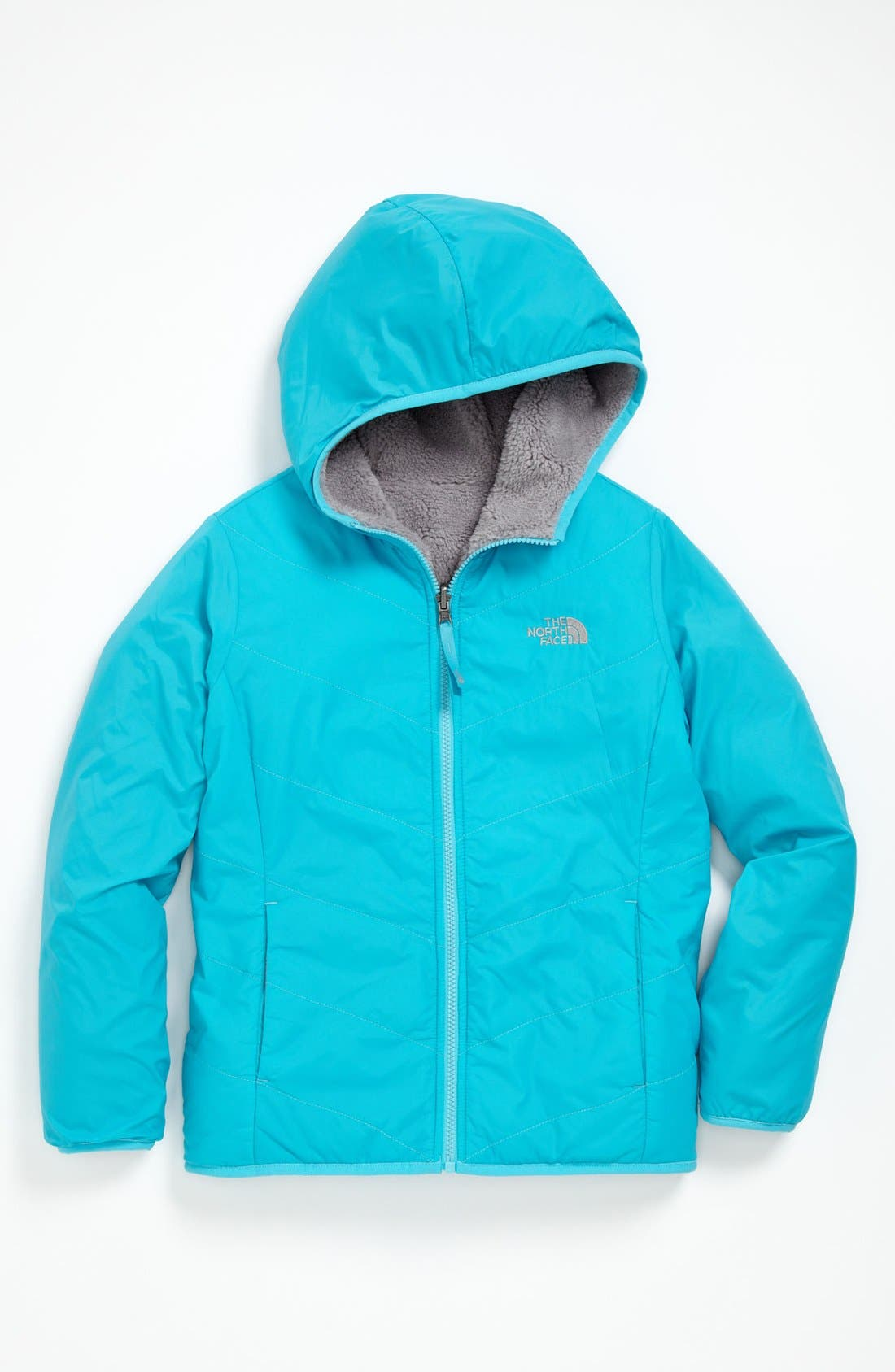 Alternate Image 1 Selected - The North Face 'Perseus' Reversible Jacket (Little Girls & Big Girls)