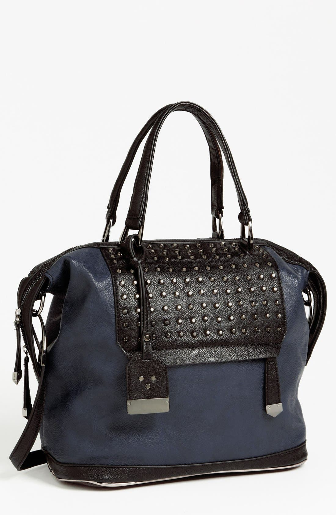 Alternate Image 1 Selected - POVERTY FLATS by rian Studded Satchel, Large