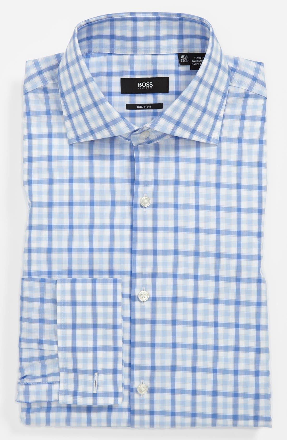 Alternate Image 1 Selected - BOSS HUGO BOSS 'Malvin' Sharp Fit Dress Shirt