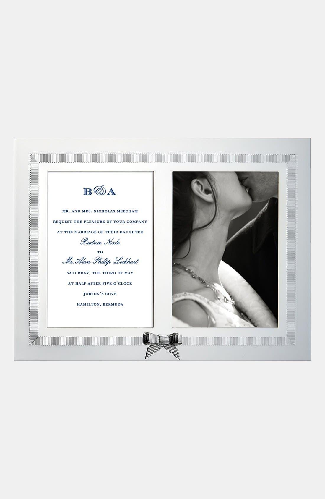 Main Image - kate spade new york 'grace avenue' double invitation frame