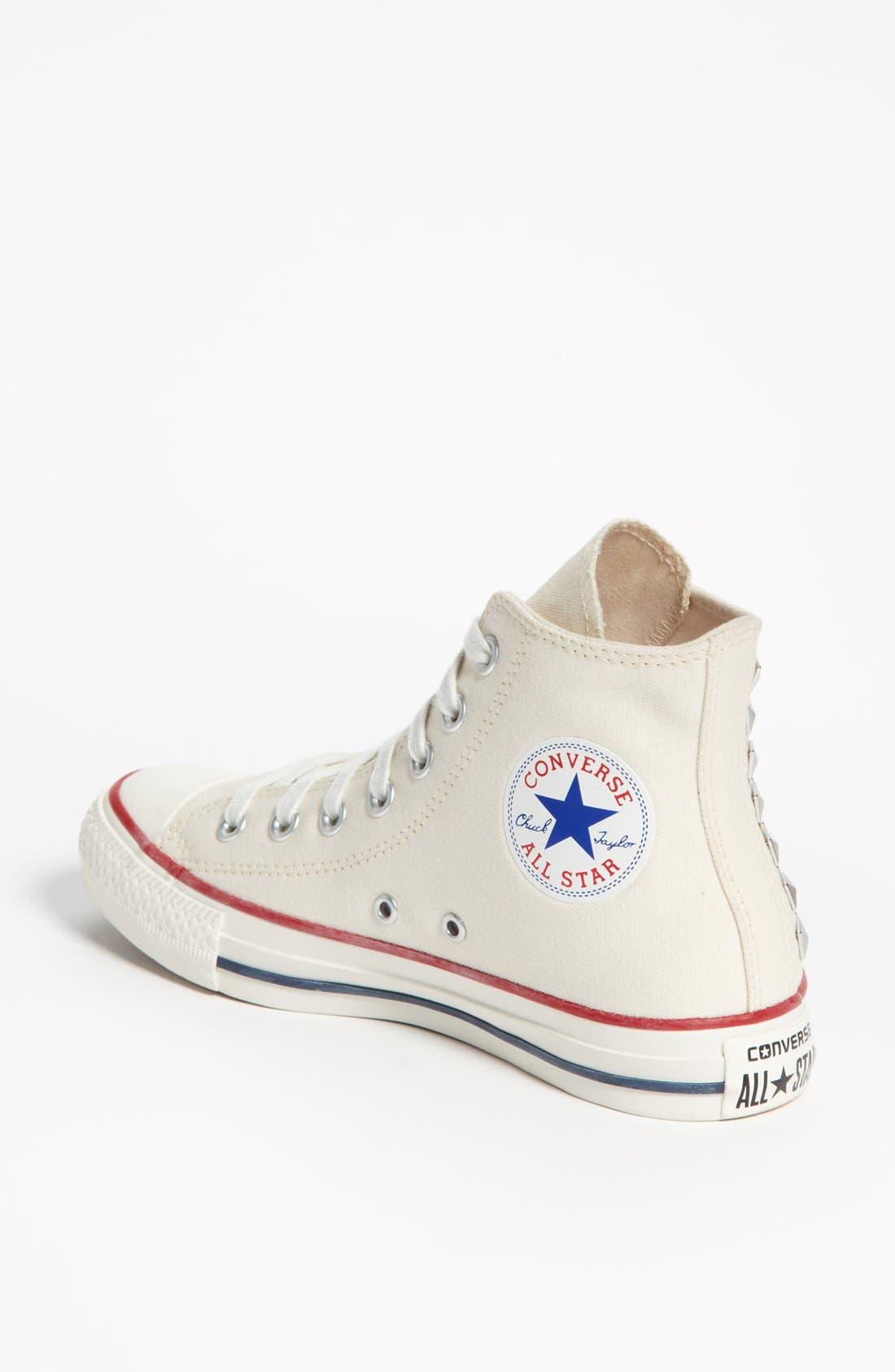 Alternate Image 2  - Converse Chuck Taylor® All Star® 'Collar Studs' Sneaker (Women)
