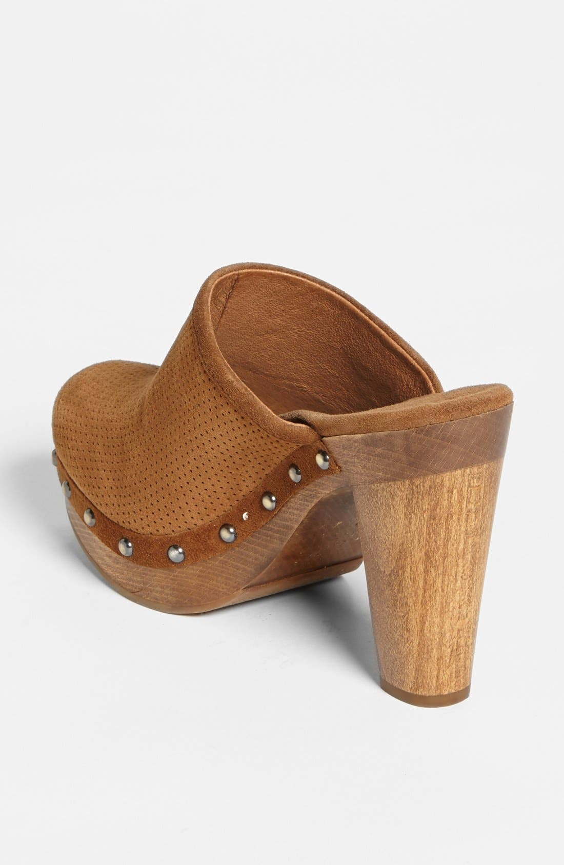 Alternate Image 2  - UGG® Australia '15 Minutes' Water Resistant Perforated Suede Clog