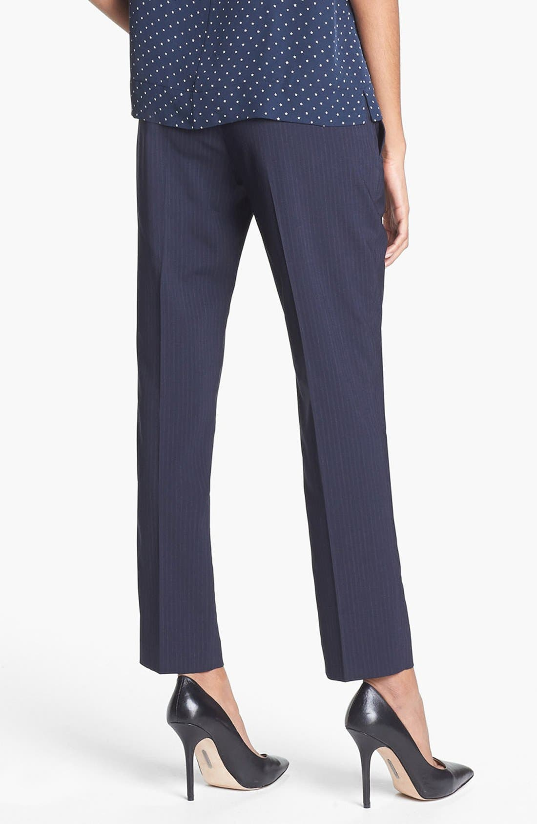 Alternate Image 2  - Theory 'Testra' Stretch Wool Trousers