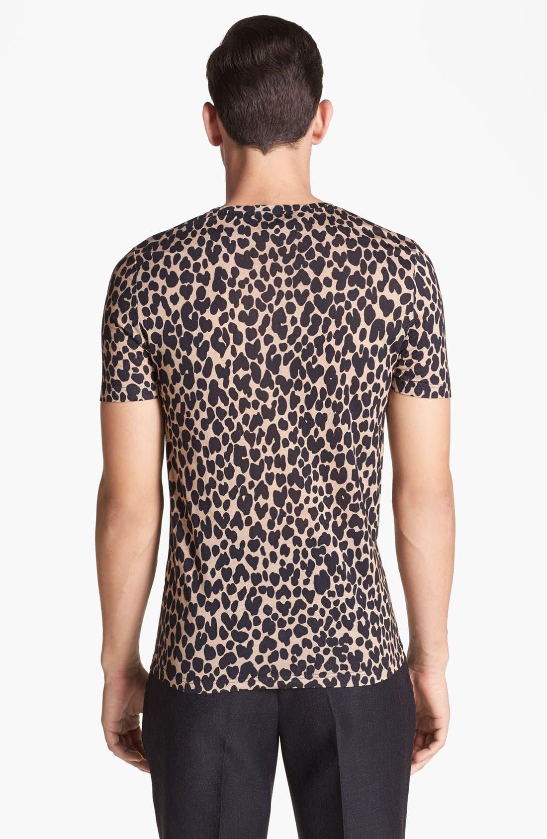 Alternate Image 2  - Burberry Prorsum Leopard Print T-Shirt
