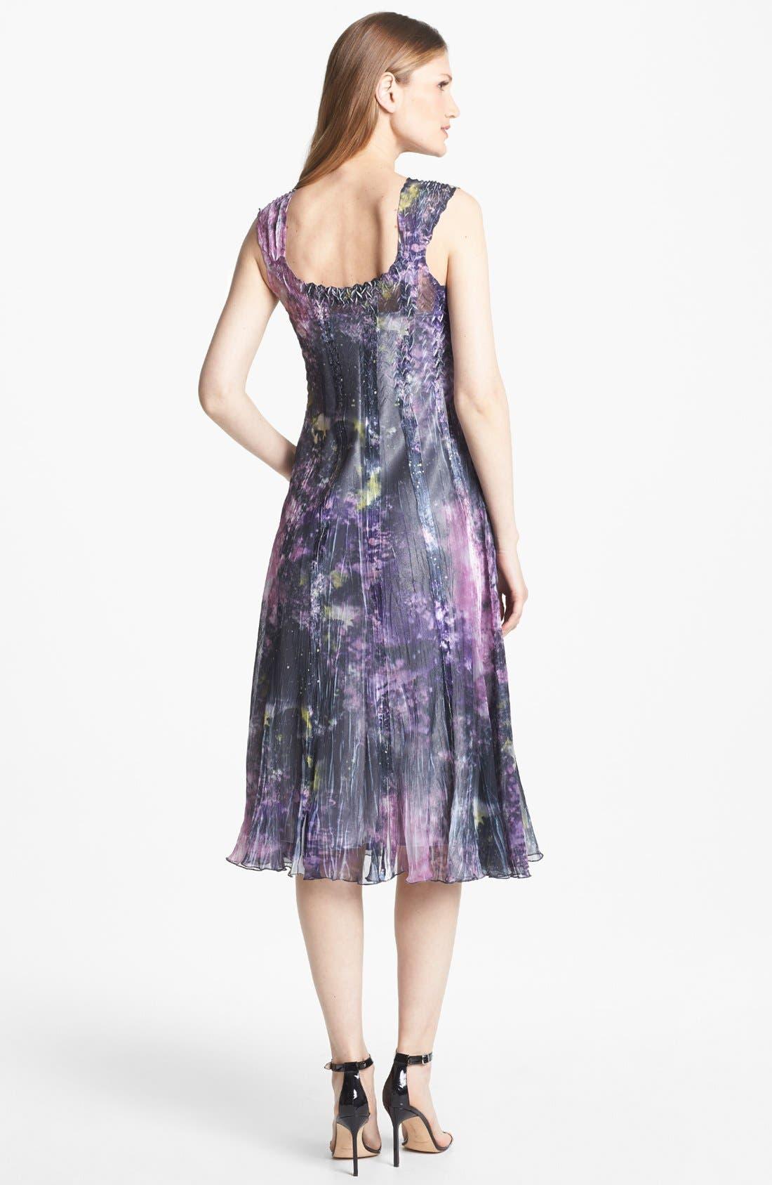 Alternate Image 2  - Komarov Print Chiffon Dress
