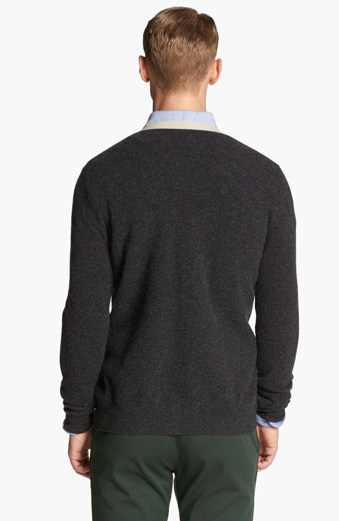 Alternate Image 2  - Band of Outsiders Wool Cardigan