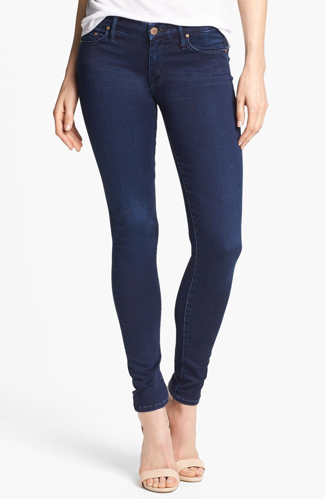 Alternate Image 1  - MOTHER 'The Looker' Skinny Stretch Jeans (Body Electric)