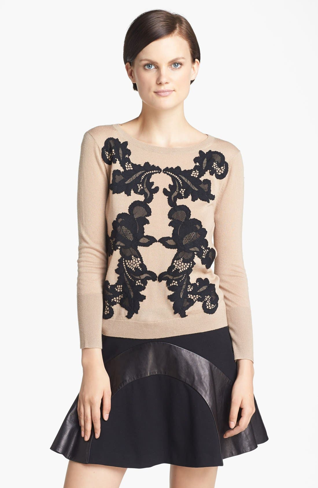 Alternate Image 1 Selected - Diane von Furstenberg 'Shara' Wool Sweater