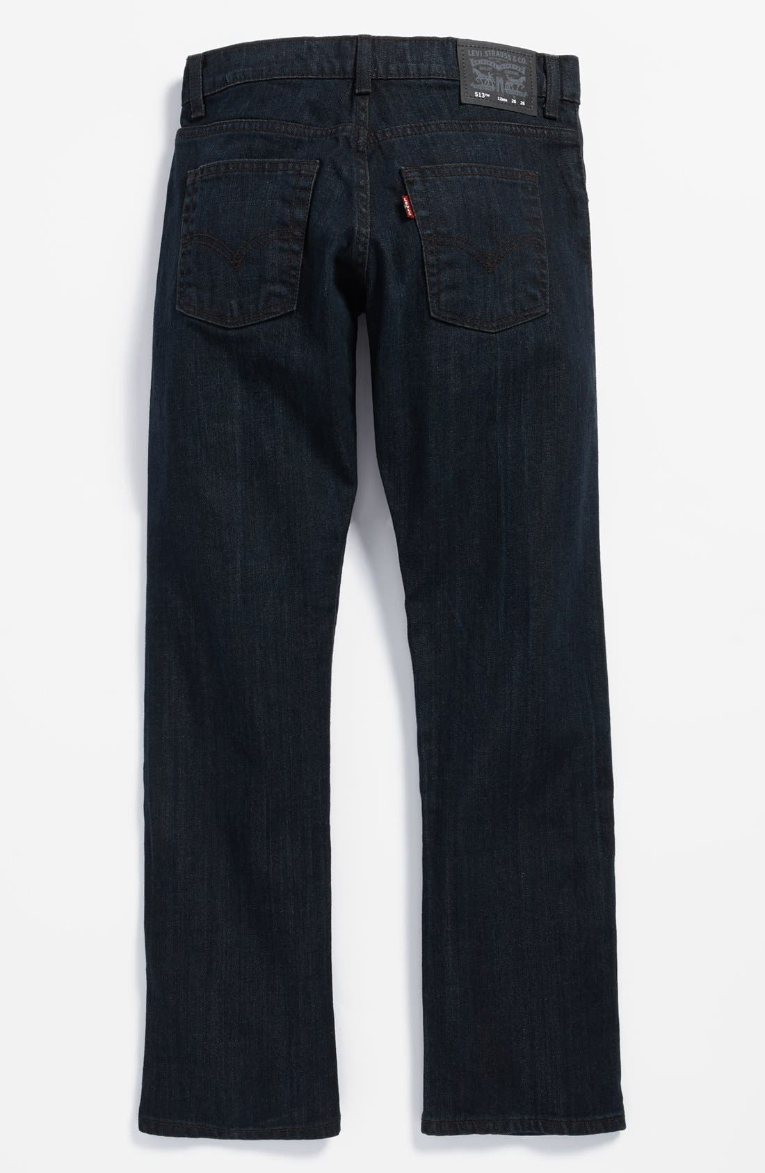 Alternate Image 1 Selected - Levi's® '513™' Slim Straight Leg Jeans (Big Boys)