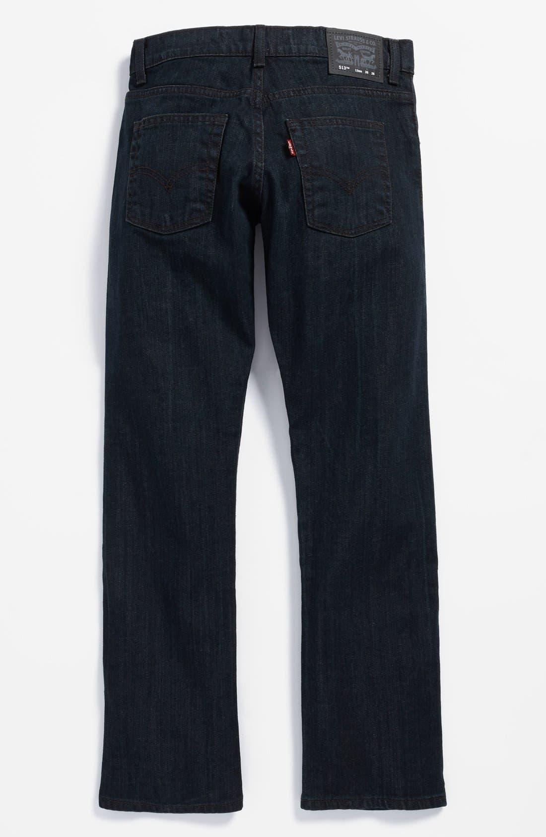 Main Image - Levi's® '513™' Slim Straight Leg Jeans (Big Boys)