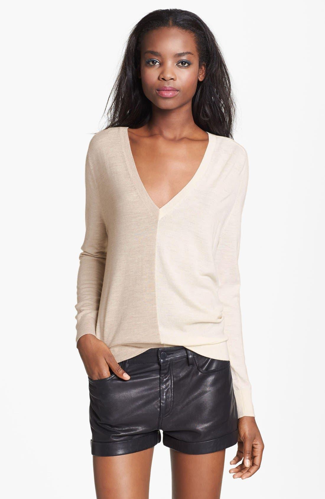 Alternate Image 1 Selected - Theory 'Adrianna C.B.' Merino Wool Sweater
