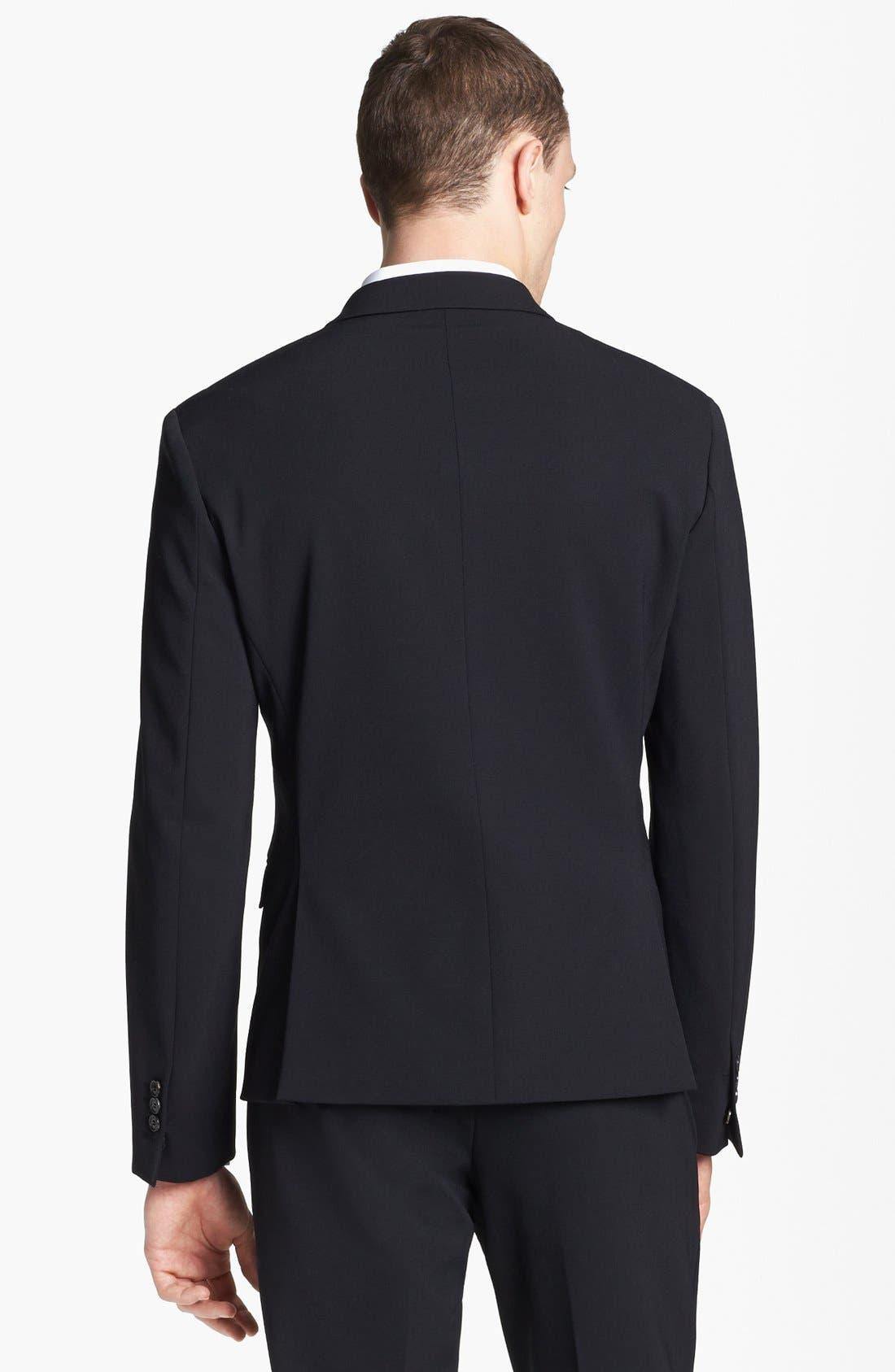 Alternate Image 4  - Neil Barrett Stretch Gabardine Suit