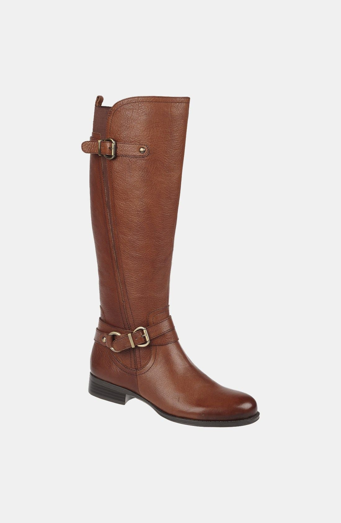 Main Image - Naturalizer 'Juletta' Tall Riding Boot (Wide Calf) (Online Only)