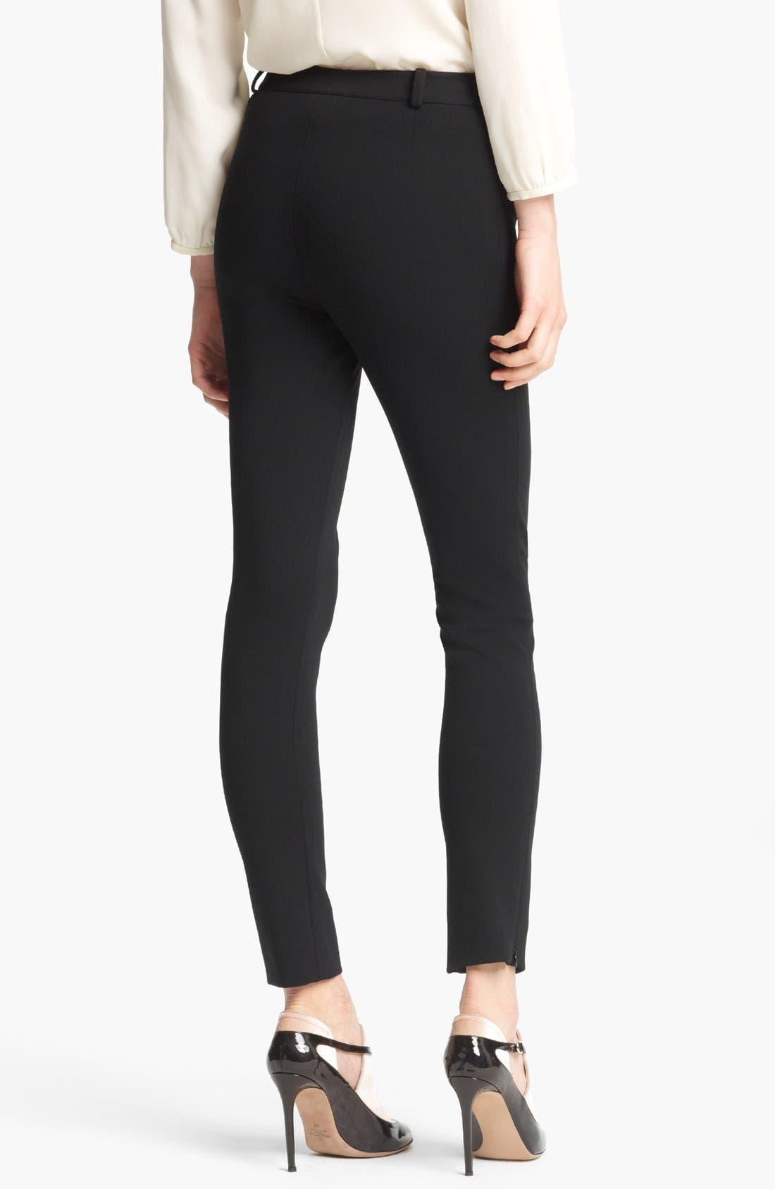 Alternate Image 2  - Valentino Compact Jersey Leggings
