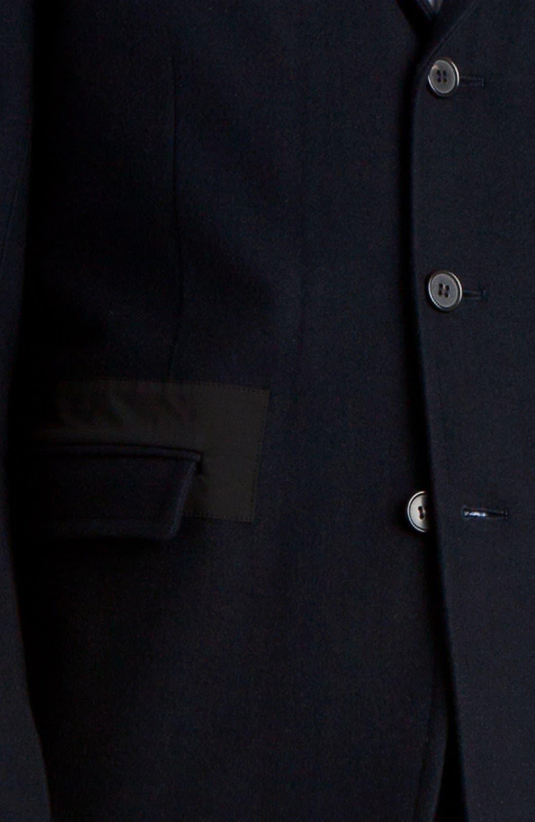Alternate Image 3  - Marni Three Button Wool Blend Blazer