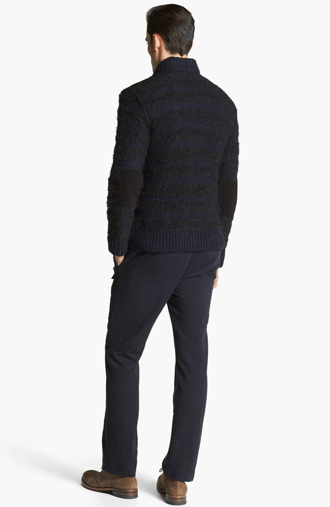Alternate Image 5  - John Varvatos Collection Chunky Knit Sweater