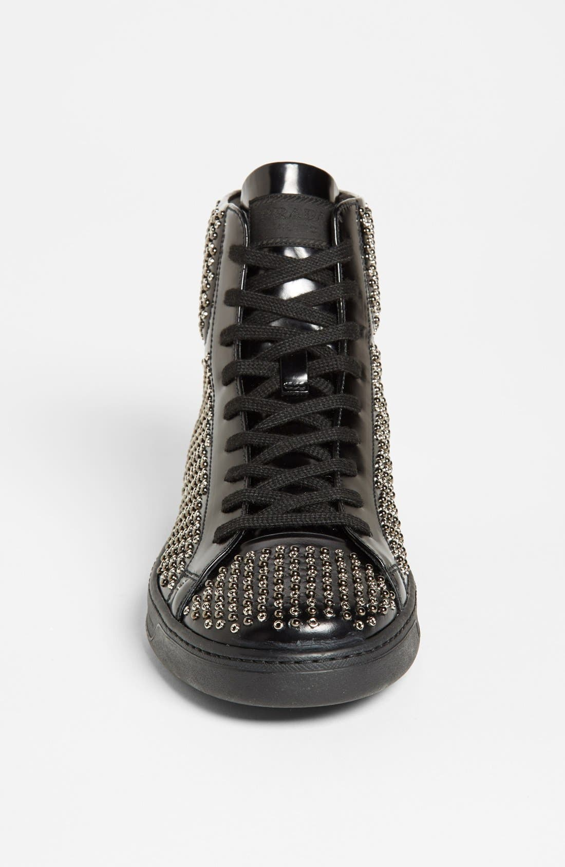 Alternate Image 3  - Prada Studded Sneaker