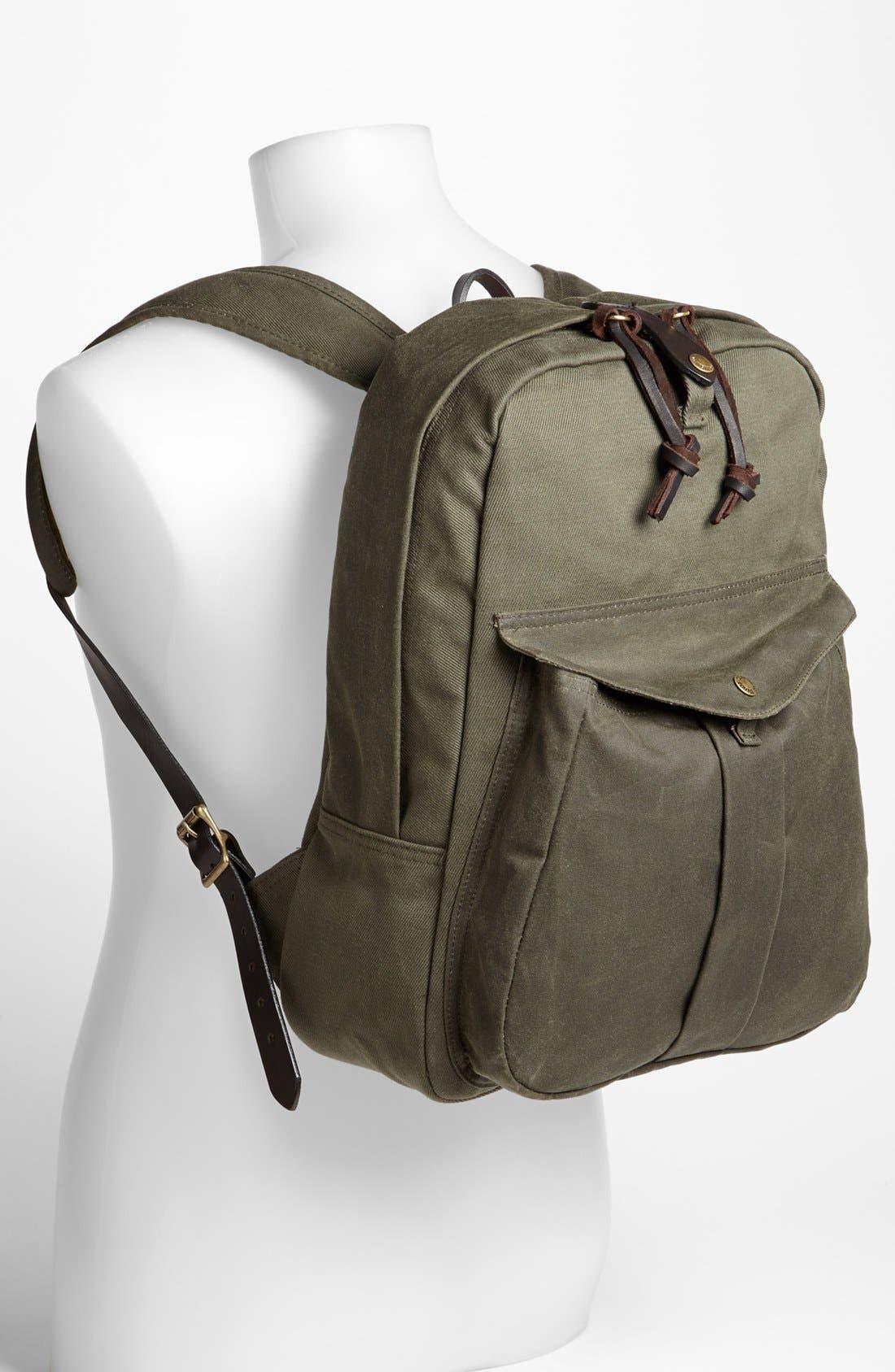 Alternate Image 4  - Filson Twill Backpack