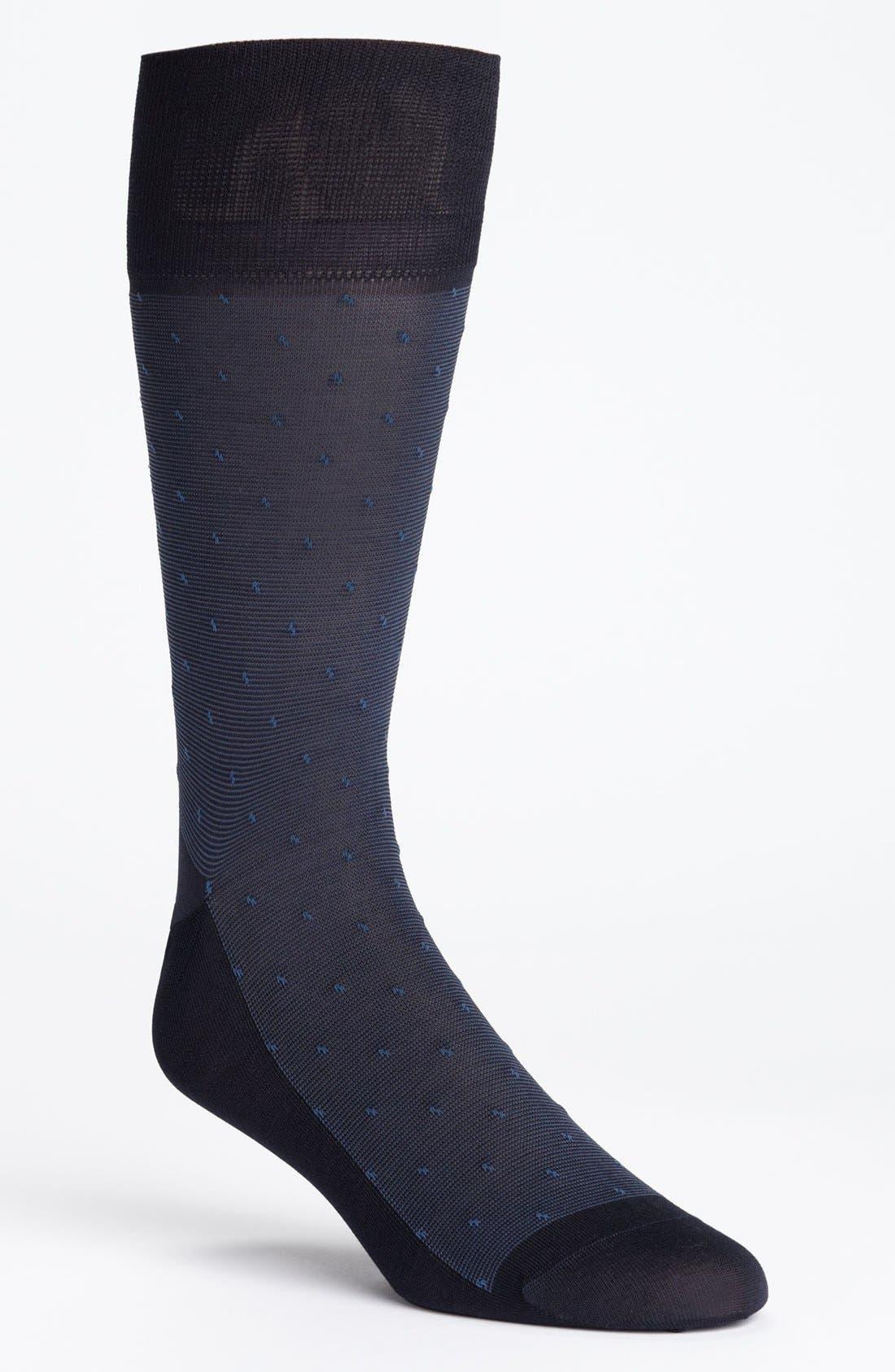 Alternate Image 1 Selected - John W. Nordstrom® Thin Stripe Socks