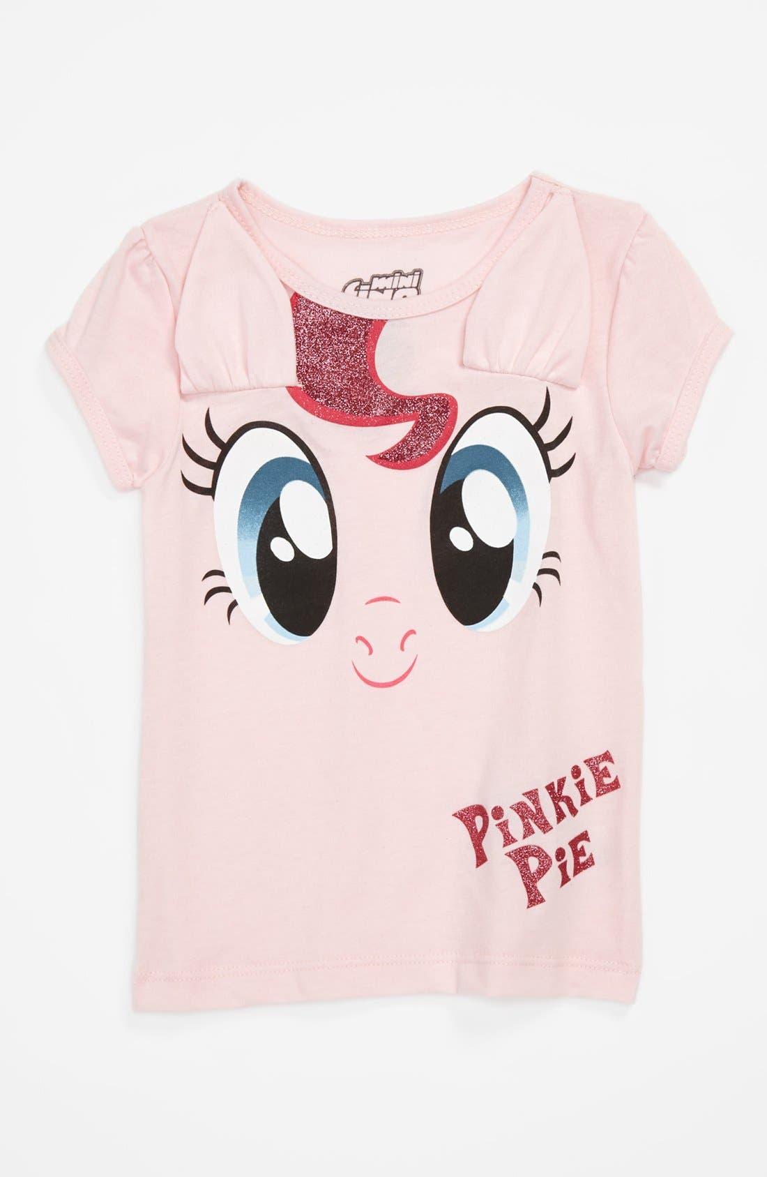 Alternate Image 1 Selected - Mighty Fine 'Pinkie Pie' Cap Sleeve Tee (Toddler Girls)