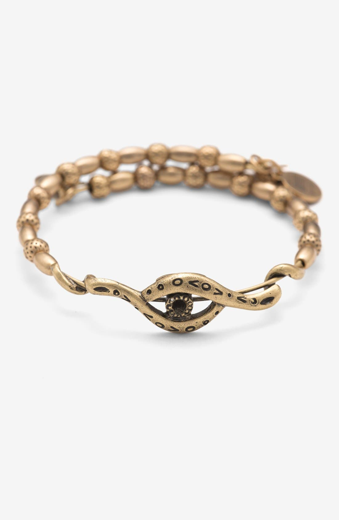 Alternate Image 1 Selected - Alex and Ani 'Eye Wrap' Expandable Wire Bangle