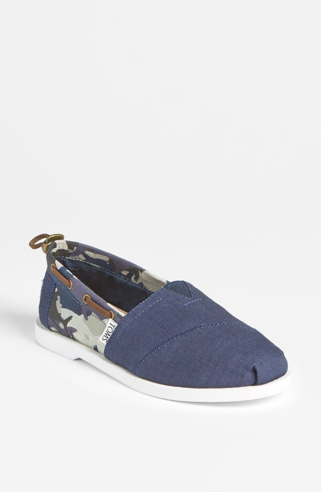 Alternate Image 1 Selected - TOMS 'Bimini - Shark Week'  Slip-On (Women) (Limited Edition)