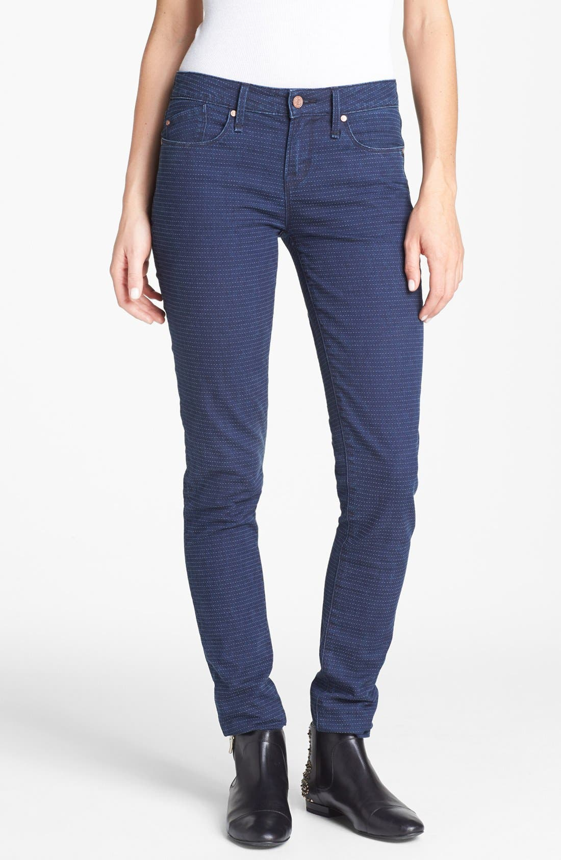 Alternate Image 1  - MARC BY MARC JACOBS 'Rolled' Slim Stretch Jeans