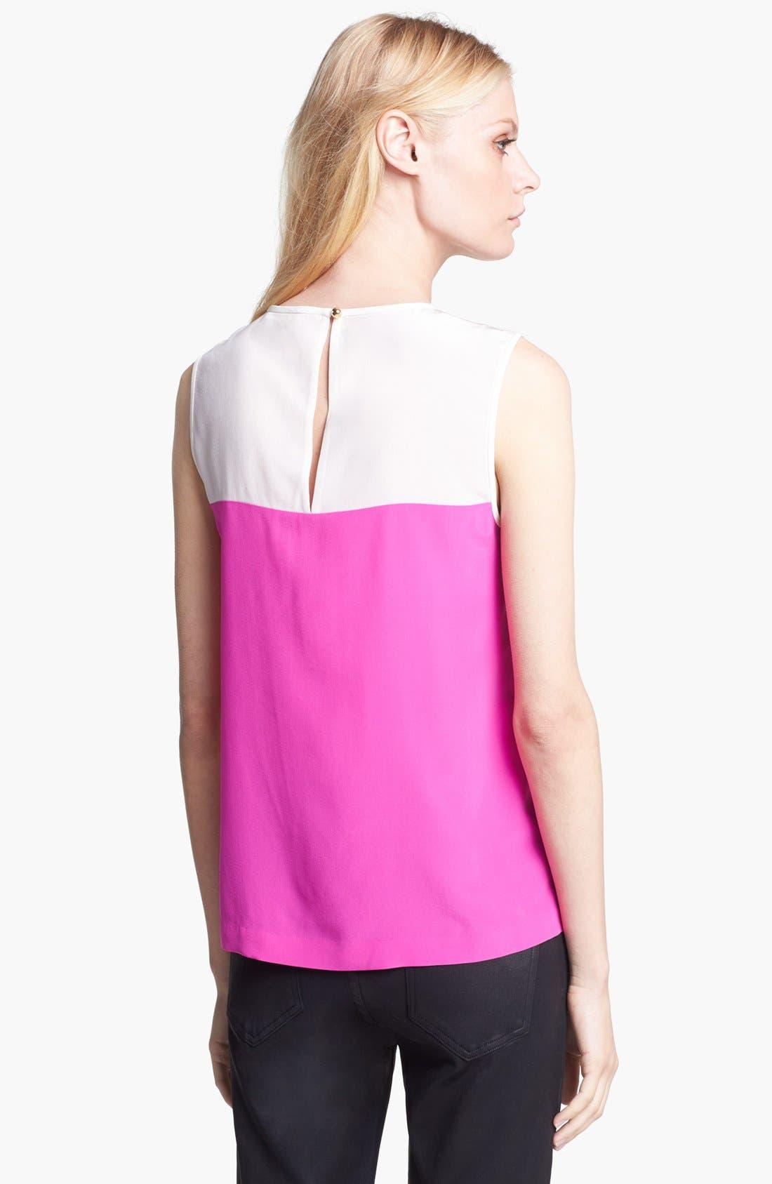 Alternate Image 2  - kate spade new york 'jamie' silk top