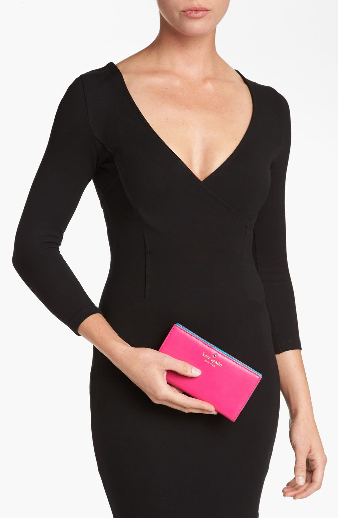 Alternate Image 4  - kate spade new york 'brightspot avenue - stacy' wallet