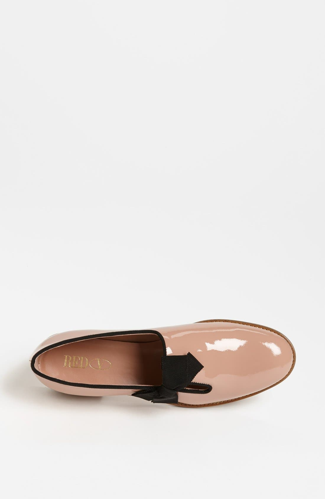 Alternate Image 3  - RED Valentino Patent Leather Tuxedo Loafer