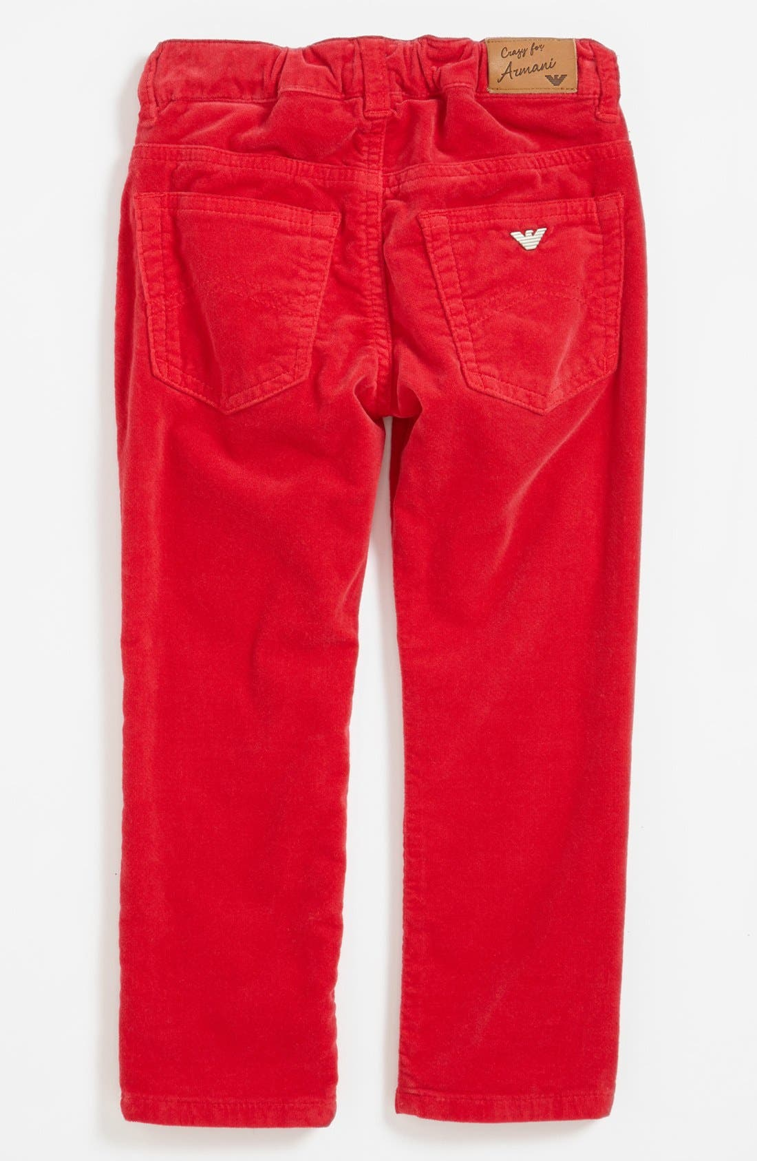 Alternate Image 2  - Armani Junior Corduroy Pants (Toddler Girls, Little Girls & Big Girls)