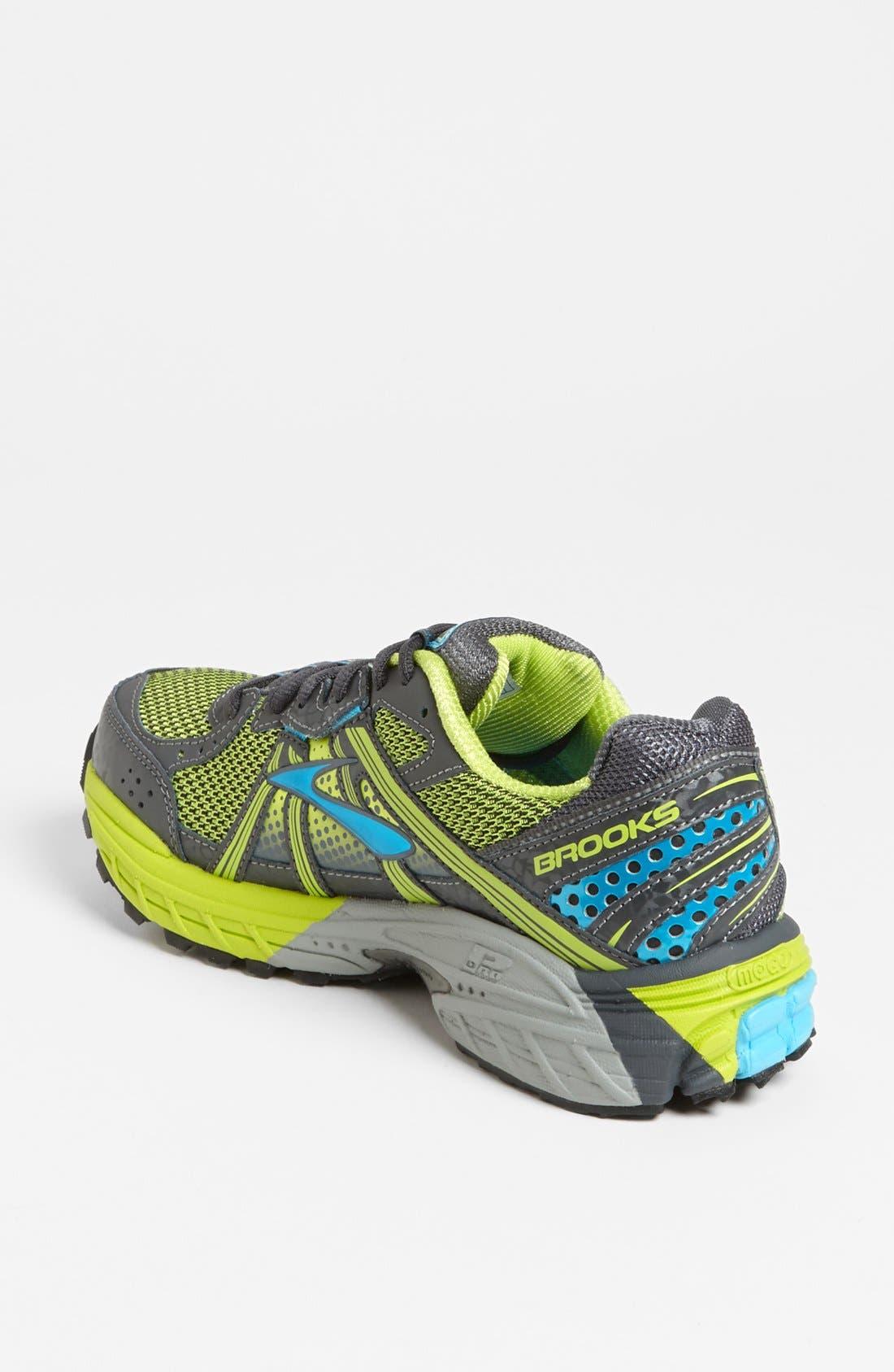 Alternate Image 2  - Brooks 'Adrenaline ASR 10' Trail Running Shoe (Women)
