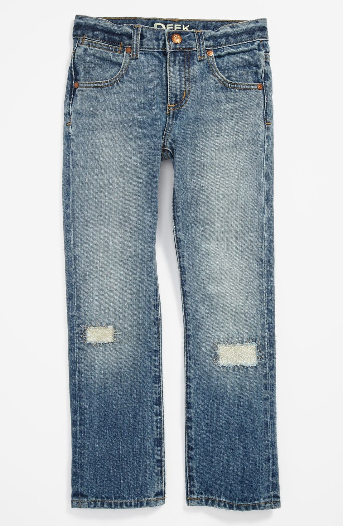 Alternate Image 2  - Peek 'Ellis' Straight Leg Jeans (Toddler Boys, Little Boys & Big Boys)
