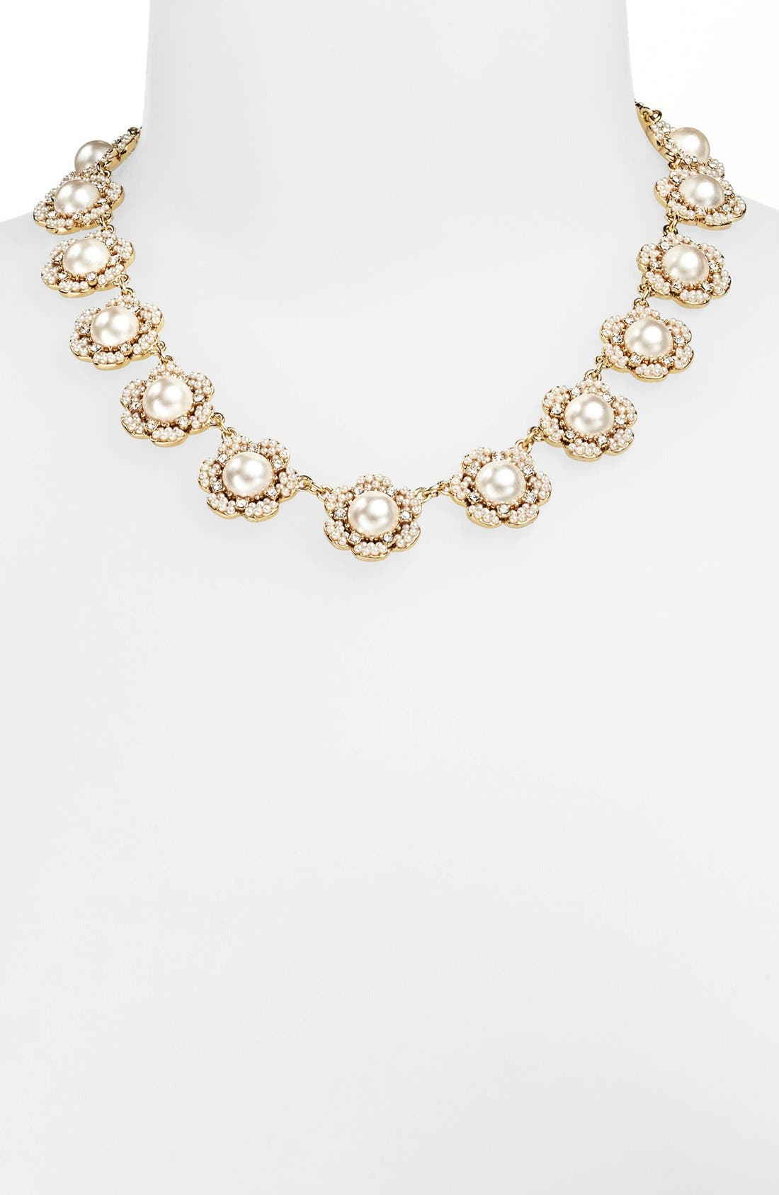 Alternate Image 1 Selected - kate spade new york 'park floral' collar necklace