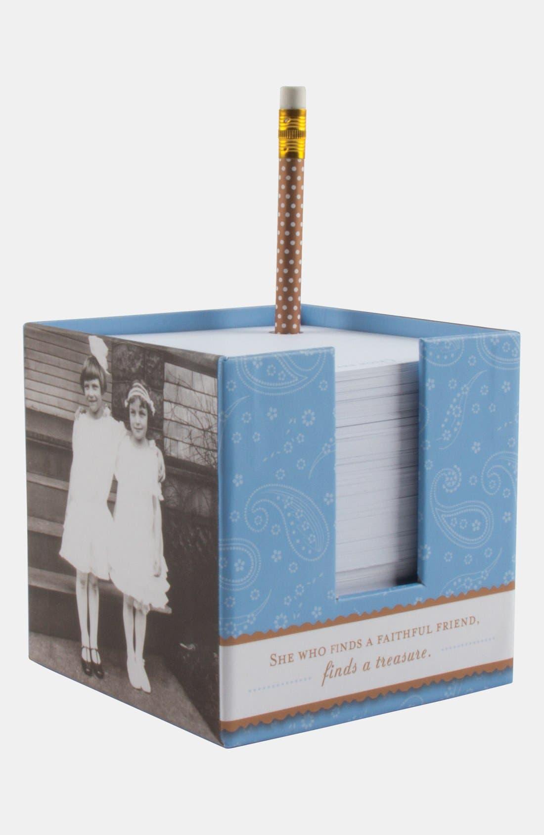 Alternate Image 1 Selected - 'Faithful Friend' Note Cube