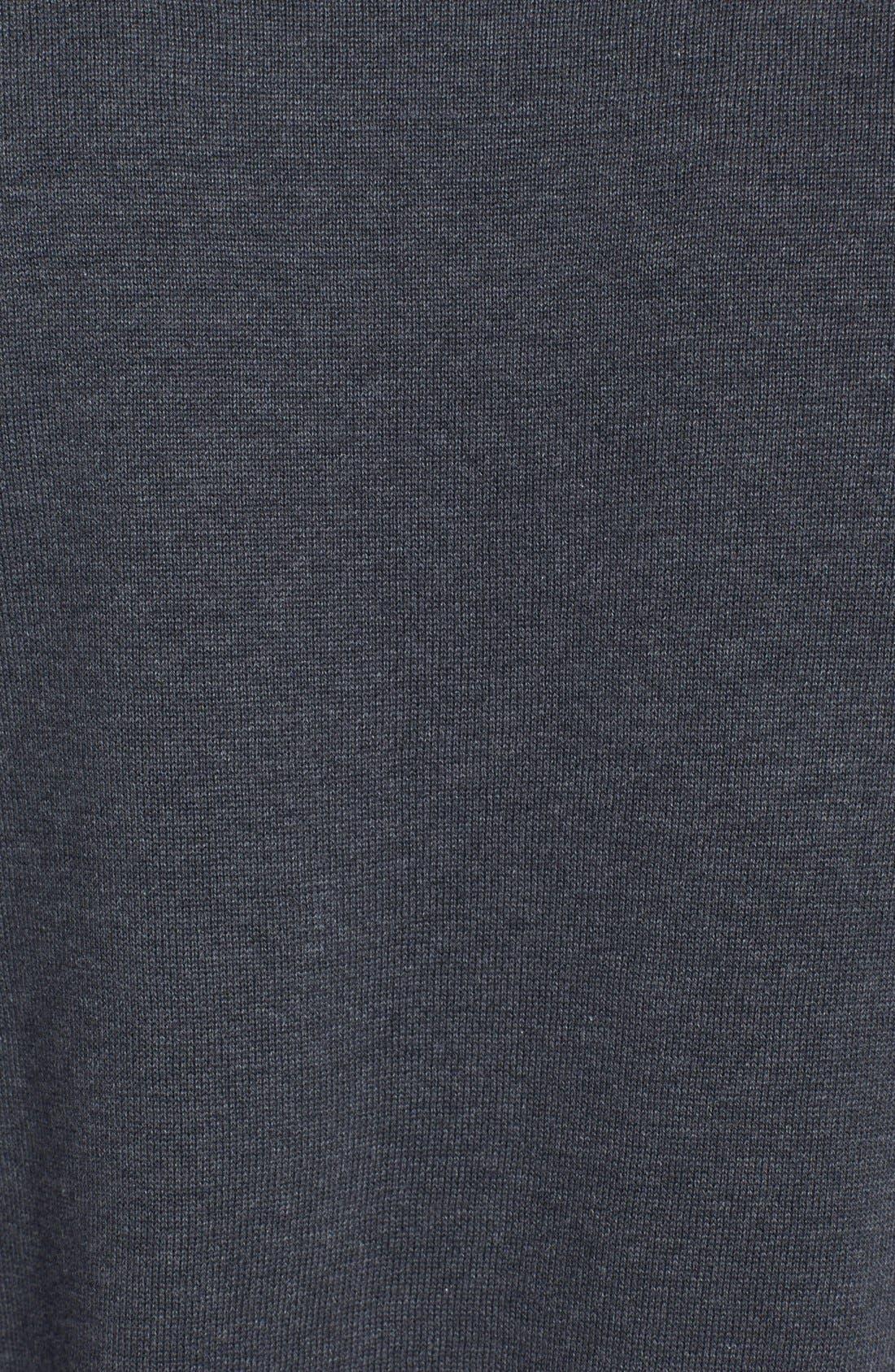 Alternate Image 3  - Zegna Sport Water Repellent Crew Neck Sweater