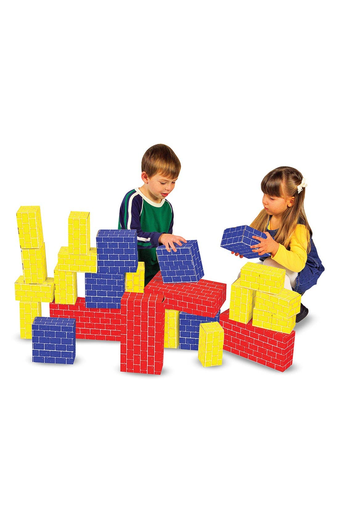 Alternate Image 1 Selected - Melissa & Doug Cardboard Blocks (Online Only)