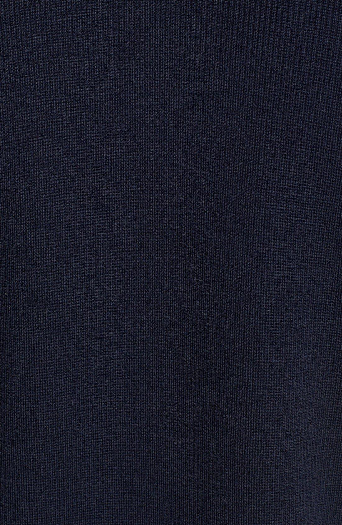 Alternate Image 3  - Zegna Sport Water Repellent Shawl Collar Sweater