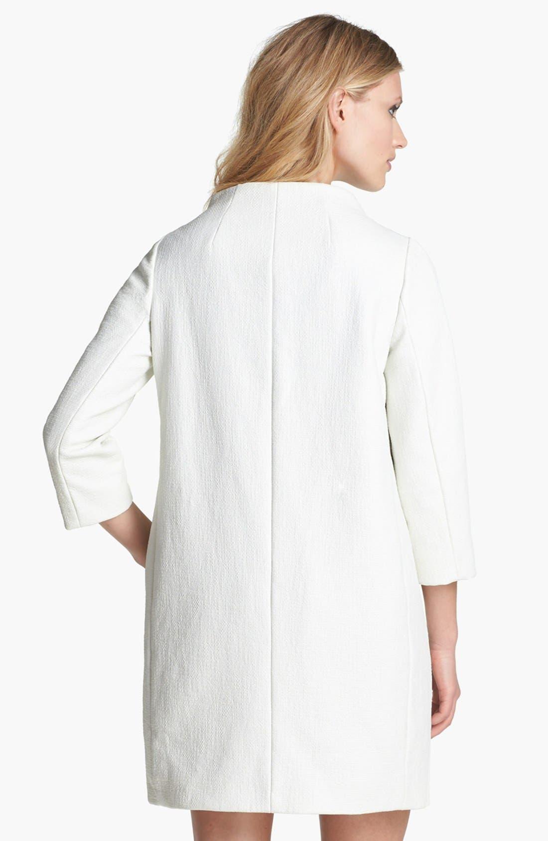 Alternate Image 2  - kate spade new york 'erika' woven coat