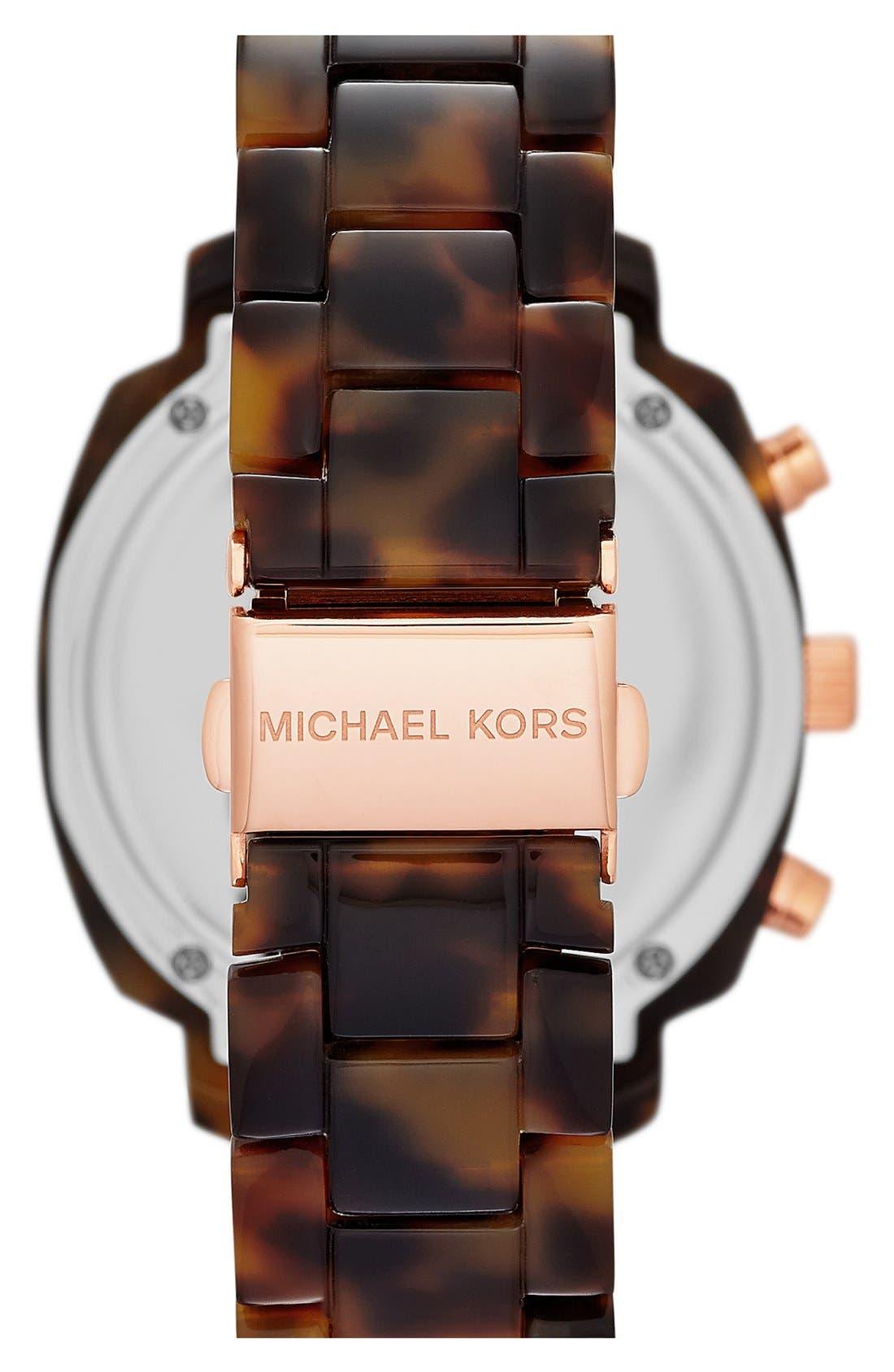 Alternate Image 2  - Michael Kors 'Wolcott' Chronograph Bracelet Watch, 41mm