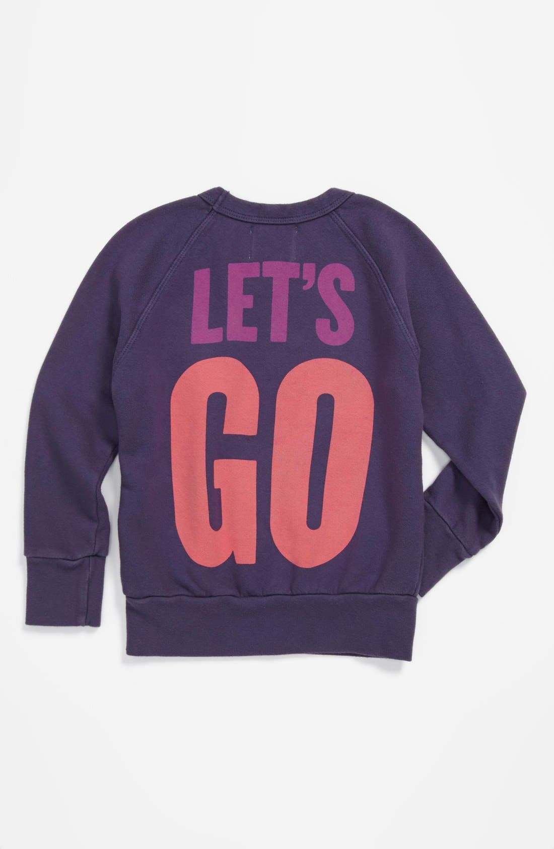 Alternate Image 2  - Peek 'Go Make a Difference' Sweatshirt (Toddler Girls, Little Girls & Big Girls)